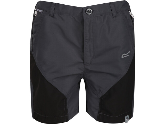 Regatta Sorcer Mountain Shorts Kids, seal grey/black